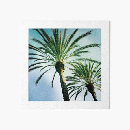 Two Palms Art Board Print