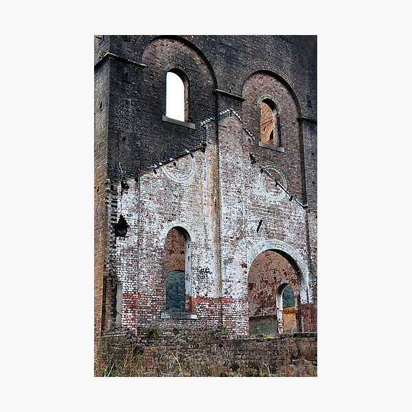 Lithgow Blast Furnace Ruins Photographic Print
