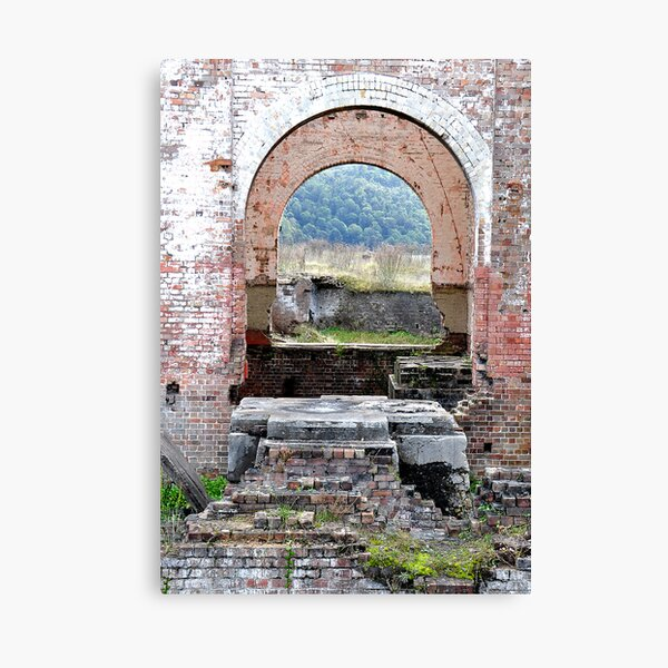 Lithgow Blast Furnace - Many Dimensions Canvas Print