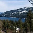 Donner Lake in late Winter by Josef Grosch