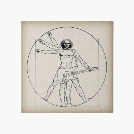 Vetruvian Rock Star  Art Board Print