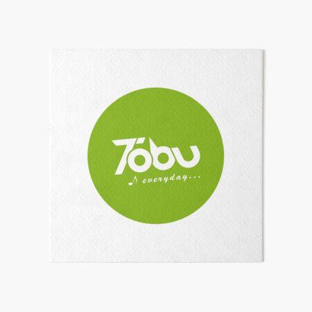 Tobu Everyday - Green Art Board Print