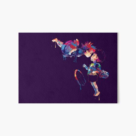 Ponyo Art Board Print