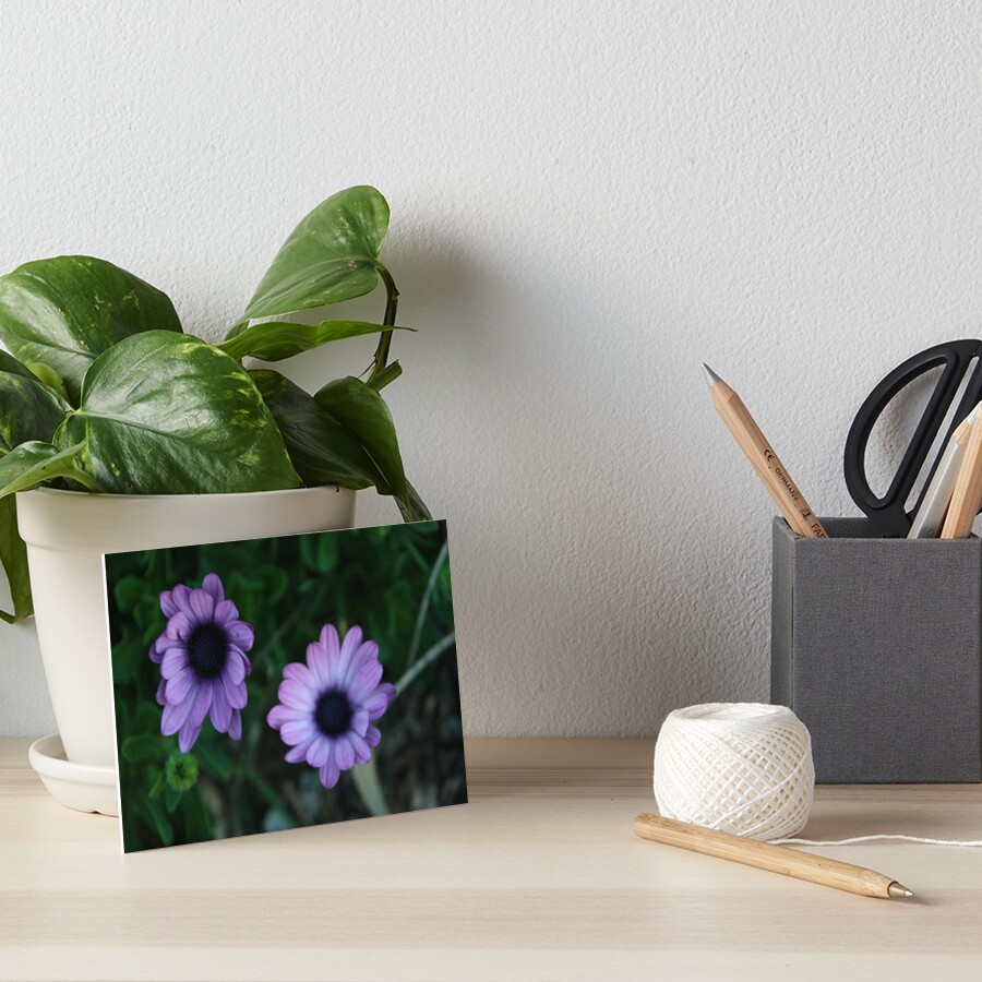 The Flowers Art Board Print