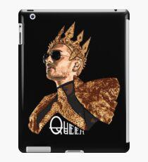 Queen Bill - White Text iPad Case/Skin