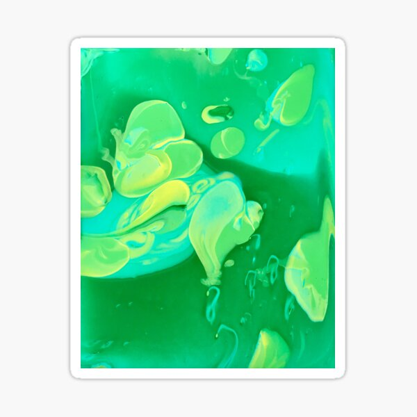Green Flame  Sticker