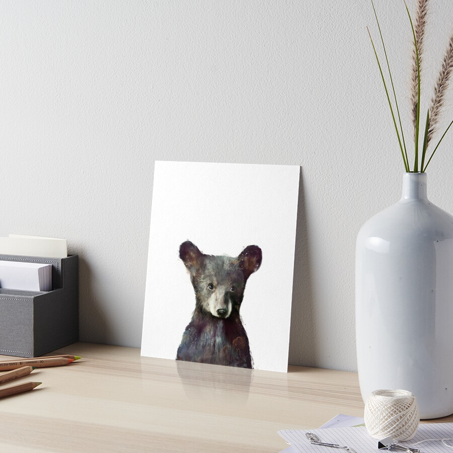 Little Bear Art Board Print