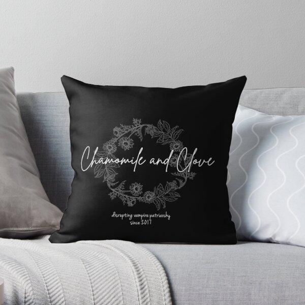 C&C Herb Wreath Throw Pillow