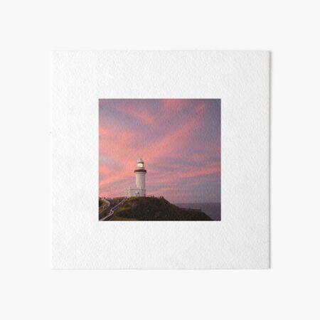 Byron Bay lighthouse Art Board Print