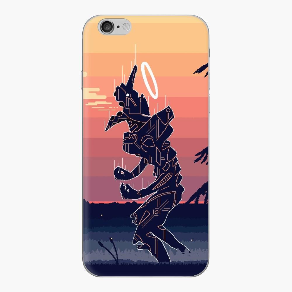 Pixel Art Eva Vinilo para iPhone