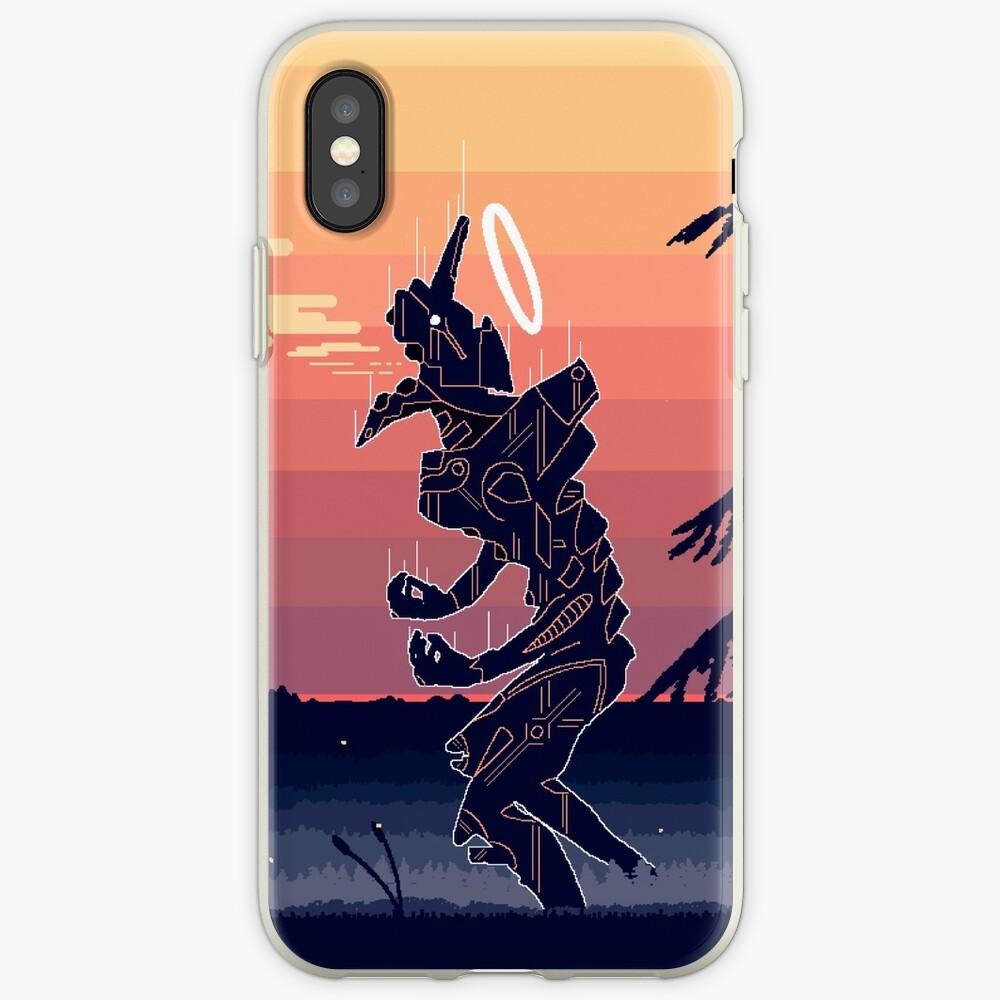 Pixel Art Eva Iphone Case Cover