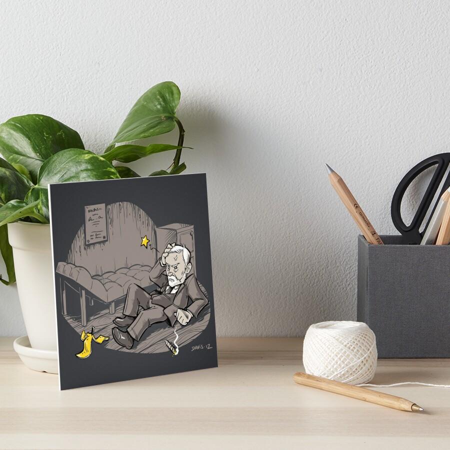 Freudian Slip (Print) Art Board Print