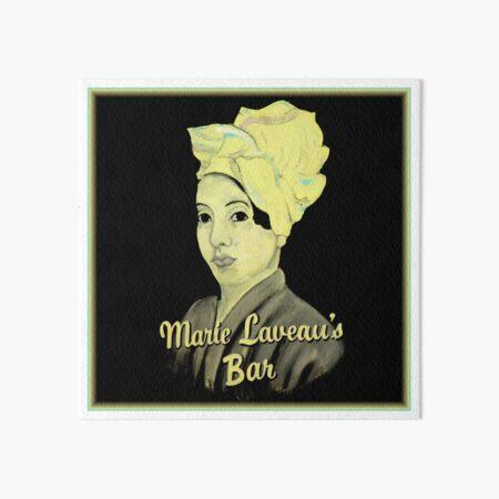 Marie Laveau's Bar Art Board Print