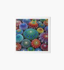 Juwel Drop Mandala Stone Collection # 1 Galeriedruck