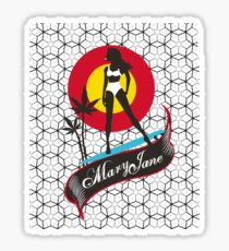 Mary Jane Sticker