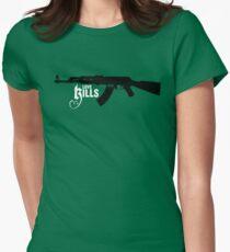 Love KIlls Women's Fitted T-Shirt