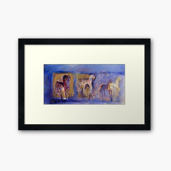 Seeing Three-  Framed Art Print