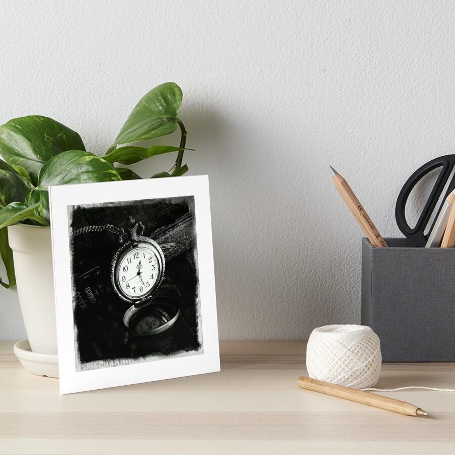 Time Piece Art Board Print