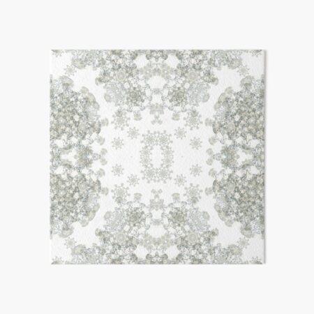 White ornamental textiles-Venus VIII  Art Board Print