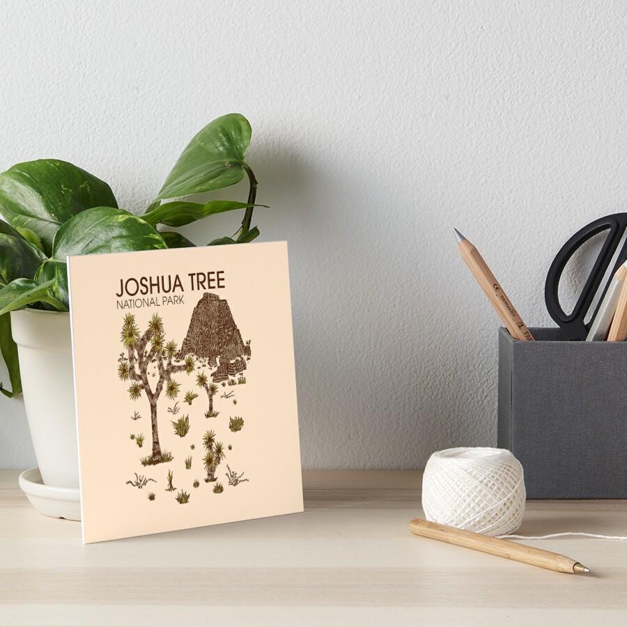 Joshua-Baum-Nationalpark Galeriedruck