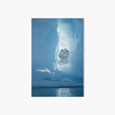 Iceberg doorway Art Board Print