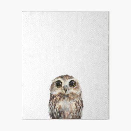 Little Owl Art Board Print