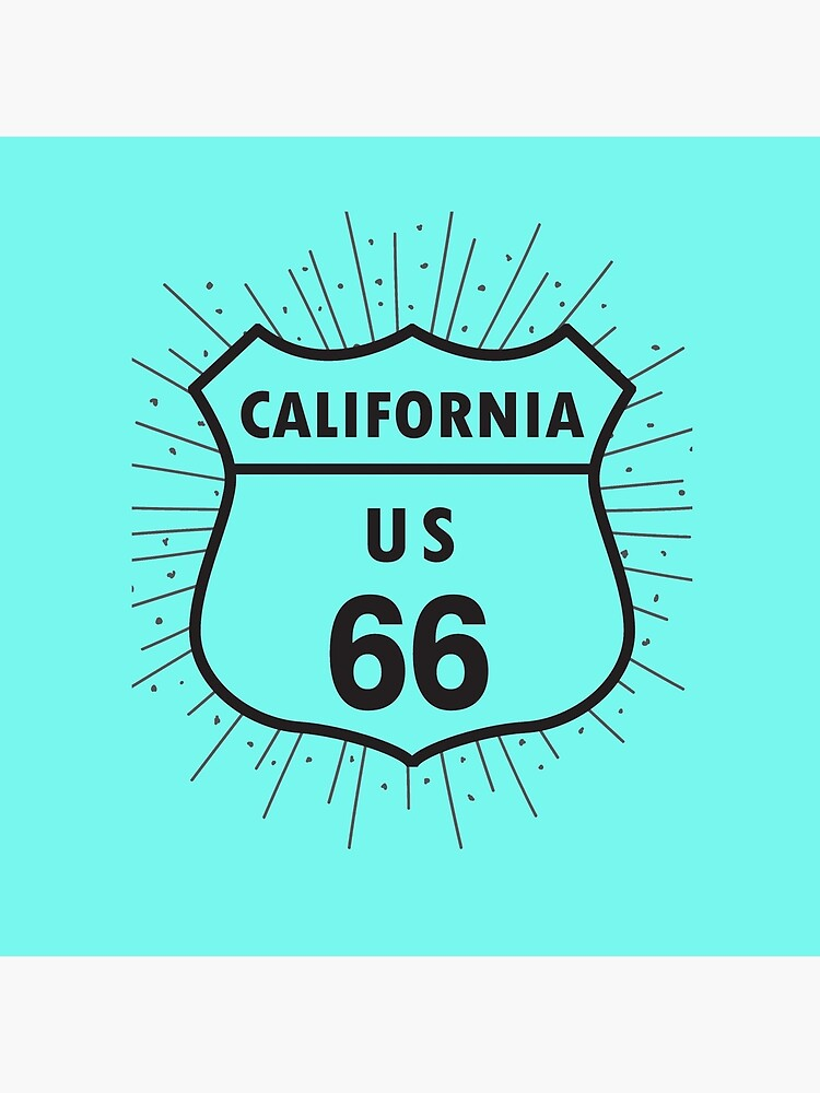 California route 66 by SueAnnApparel