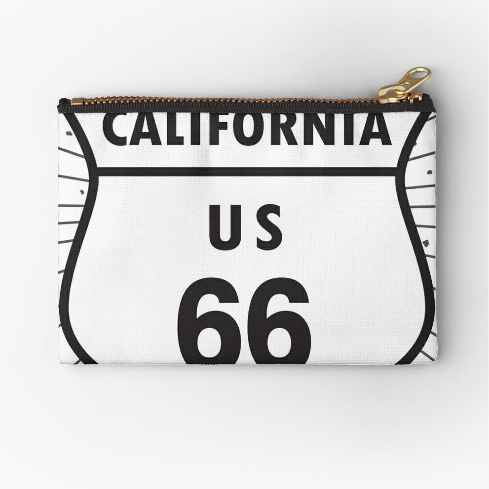 California route 66 Zipper Pouch