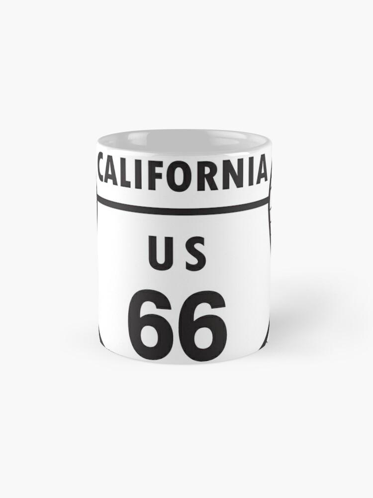 Alternate view of California route 66 Mug