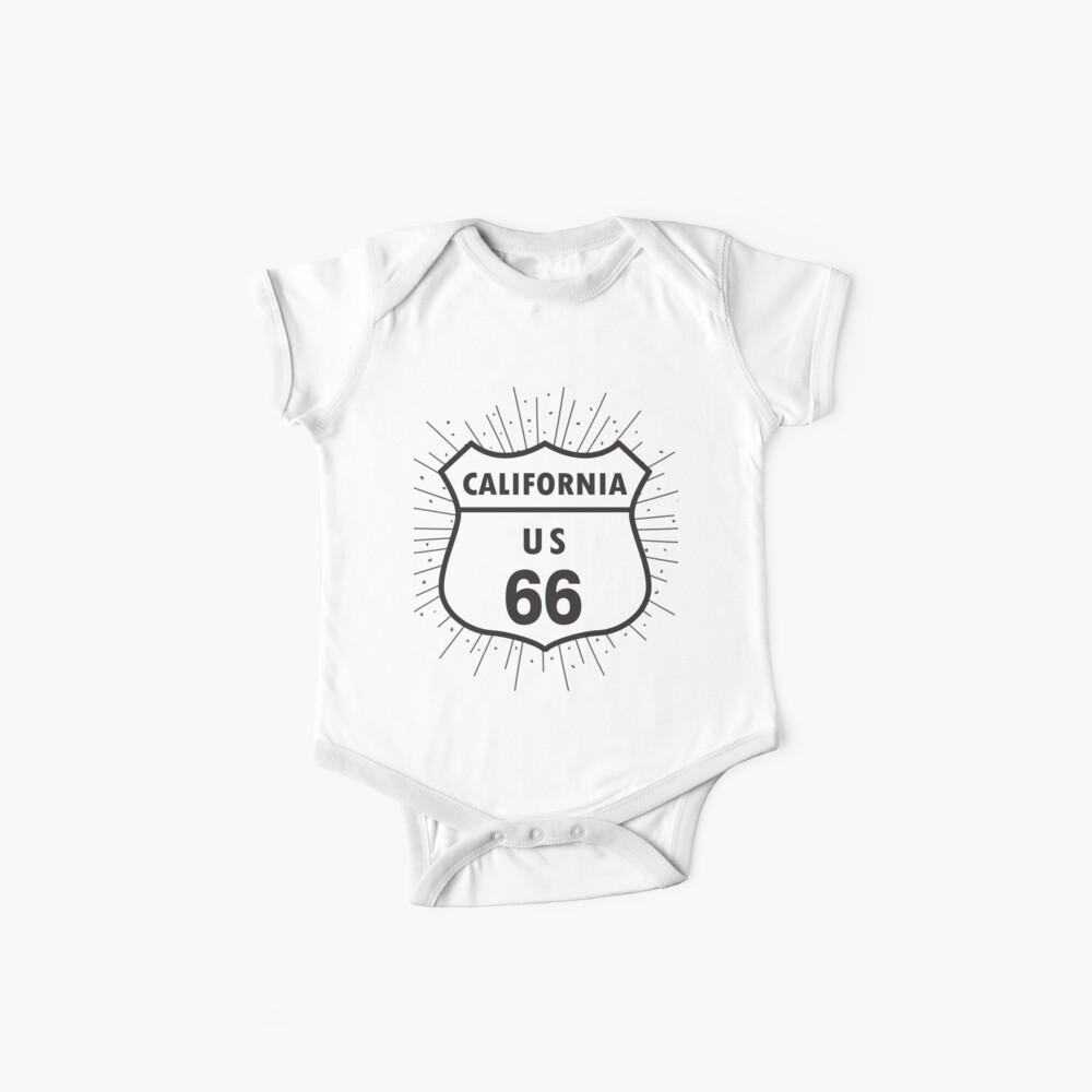 California route 66 Baby One-Piece