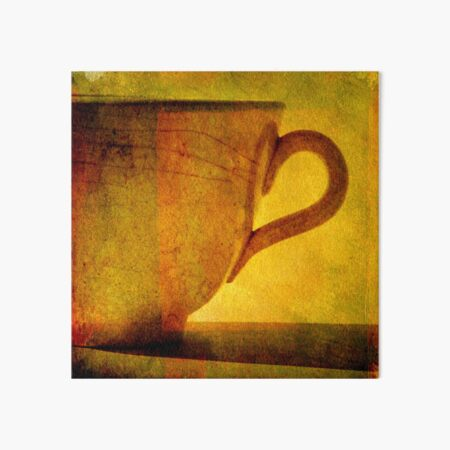 I would love a cup of tea ... Art Board Print
