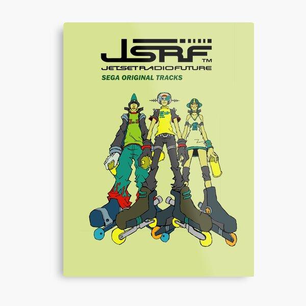 Jet Set Radio Future Soundtrack Cover Metal Print