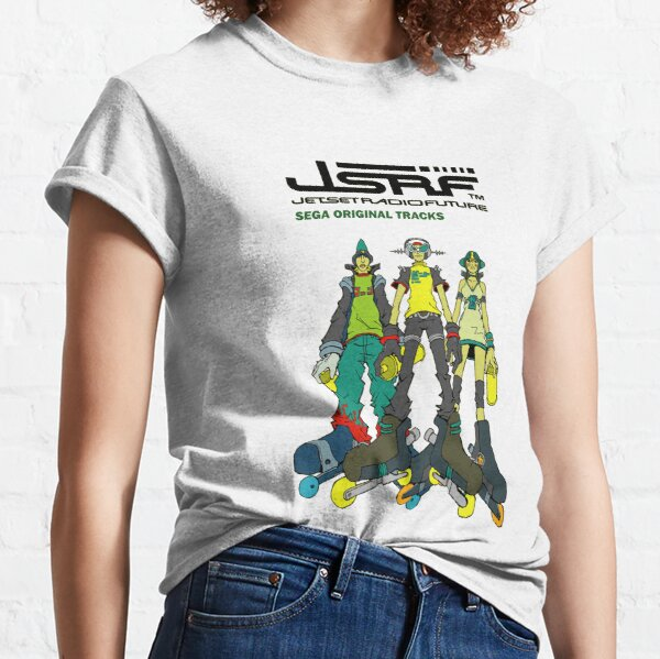 Jet Set Radio Future Soundtrack Cover Classic T-Shirt