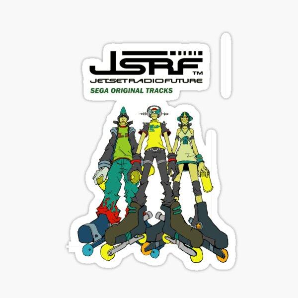 Jet Set Radio Future Soundtrack Cover Sticker