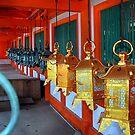 Lanterns at Kasuga-taisha Grand Shrine by andreisky