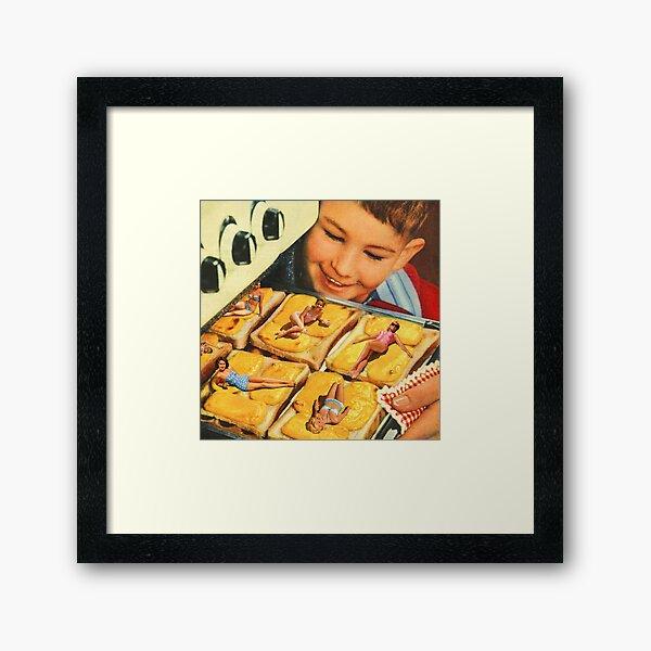 Girls on toast Framed Art Print