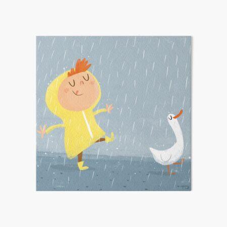 Nice weather for ducks Art Board Print