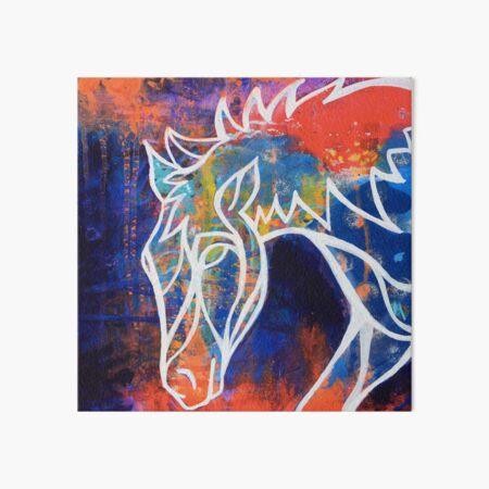 Wild at Heart 1 : Inner Power Painting Art Board Print
