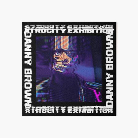 Danny Brown - Atrocity Exhibition  Art Board Print
