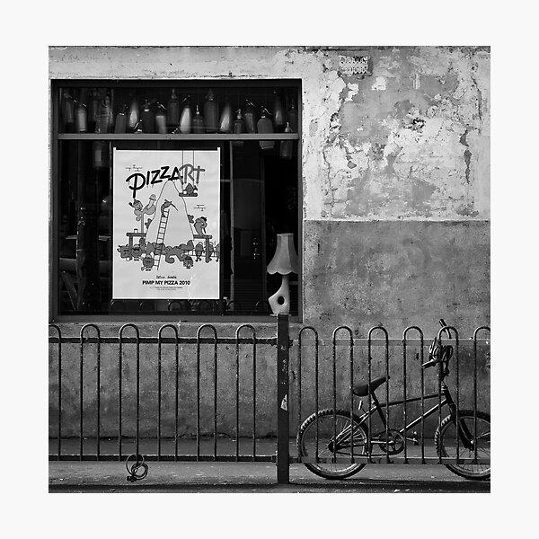 Pizzart Photographic Print