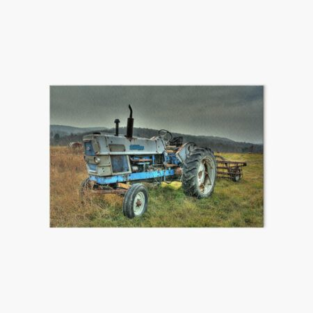 Ford Tractor Art Board Print