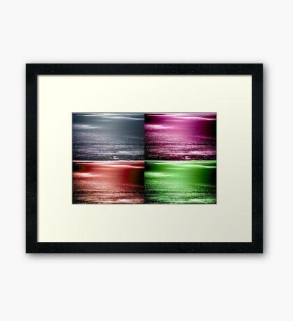 The Colours Framed Print