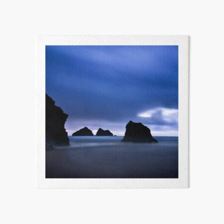 Holywell Bay II Art Board Print