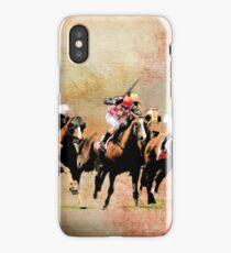 Final Furlong iPhone Case/Skin
