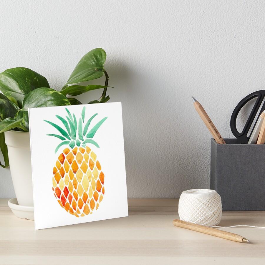 Ananas Galeriedruck