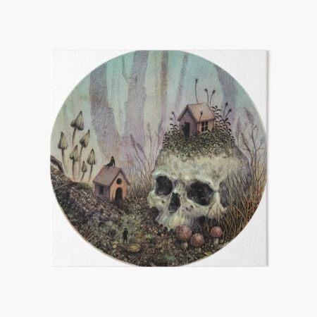 Little Forest Spirits  Art Board Print