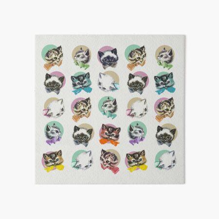 Cats & Bowties Art Board Print