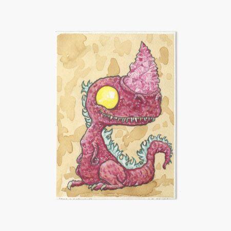 Baby Burntroxodon Art Board Print