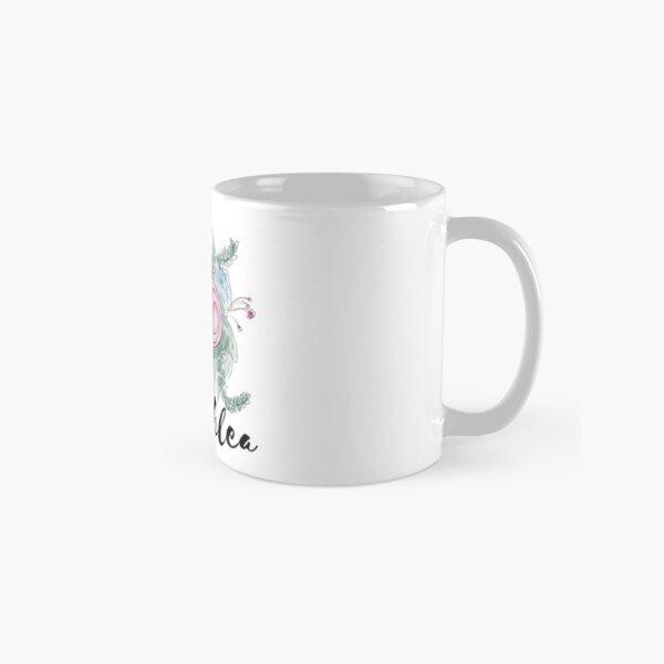 Floral Cochlea Speech Pathology Audiology Classic Mug