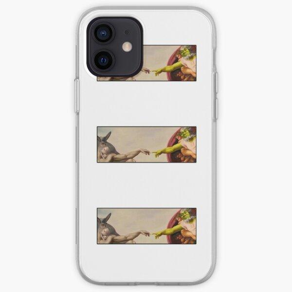 Shrek manos de Dios Funda blanda para iPhone